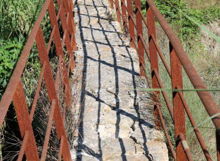 Bordighera (IM): ponte antico del Sentiero del Beodo