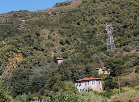 Camporosso (IM): tra Località Garibaudo e Località Cian de Ca'
