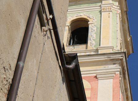Riva Ligure (IM): campanile della Chiesa Parrocchiale di San Maurizio